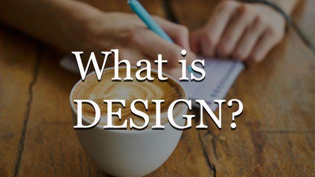 デザインすることは社会問題を解決すること