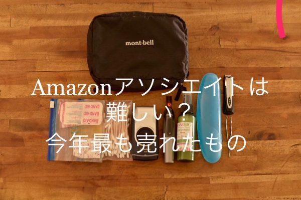 Amazonアソシエイトは難しい?今年最も売れたもの10選と売れるコツ