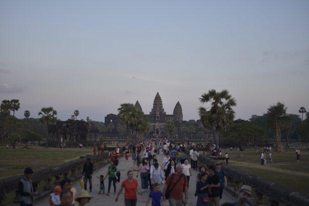 【世界遺産で初詣】カンボジアのアンコールワットに無料で入る方法