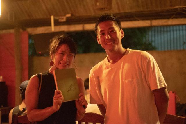 カンボジアのサッカー選手のサイン