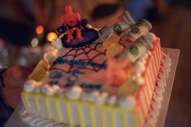 カンボジアのケーキ
