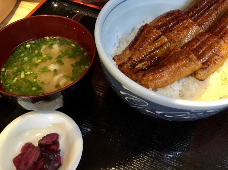 千代田のうな丼