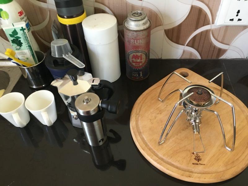 ミニマルなキッチン環境