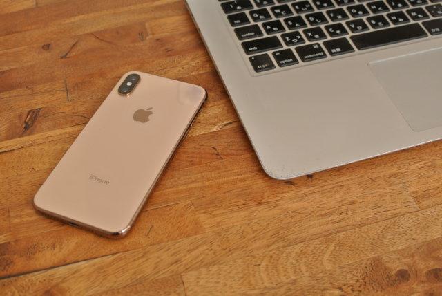 MacBookAirとiPhone