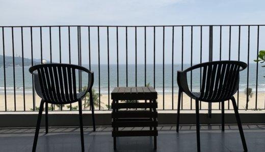 【宿泊レビュー】ベトナム・ダナンのダン オアシス ホテルはキッチン・バズタブ付きでシービューと最高だった