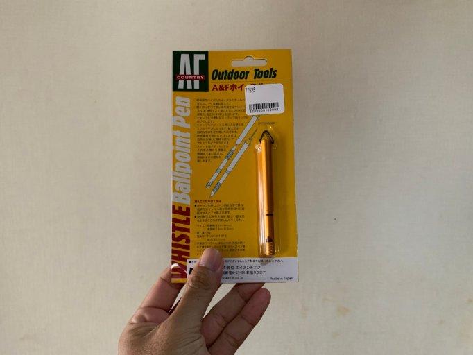 A&Fのホイッスルボールペン