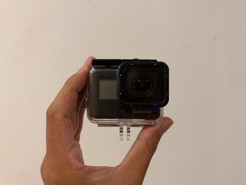 GoPro HERO7にSUPER SUITを装着