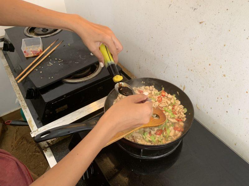 大豆ソース