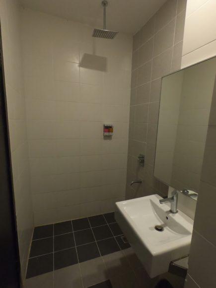 ランカプリインのシャワー
