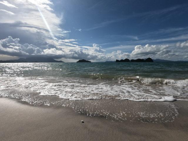 タンジェンルーのビーチ