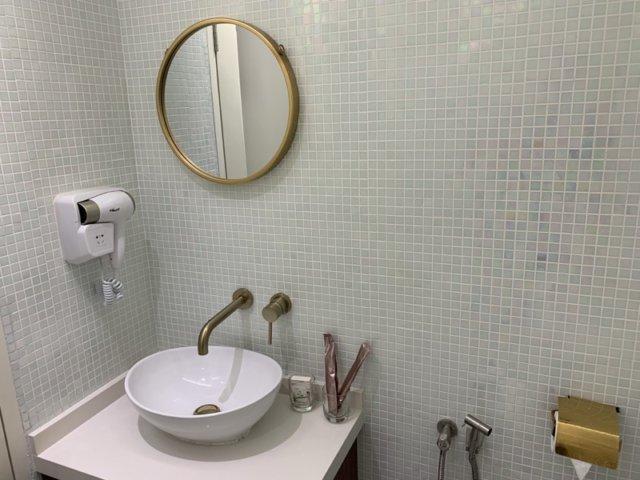 ホワイトマンションのバスルーム