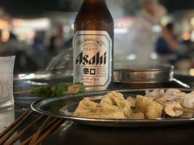アサヒビールの大瓶