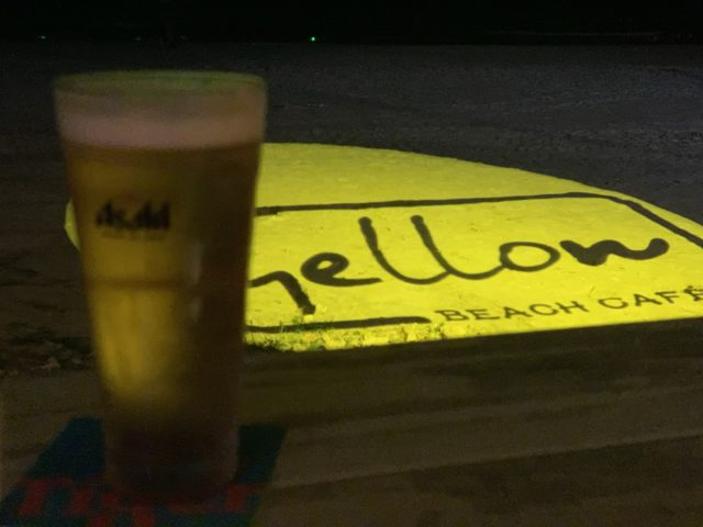 wellow beach cafeのビール