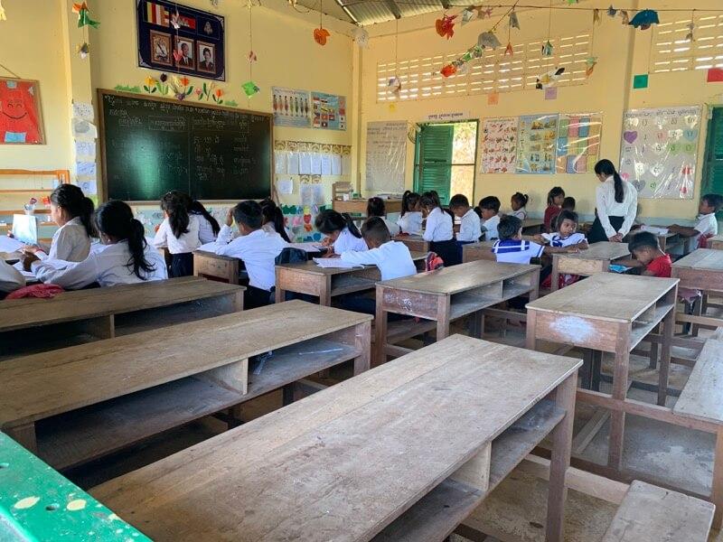 4年目のみらいスクールの授業風景