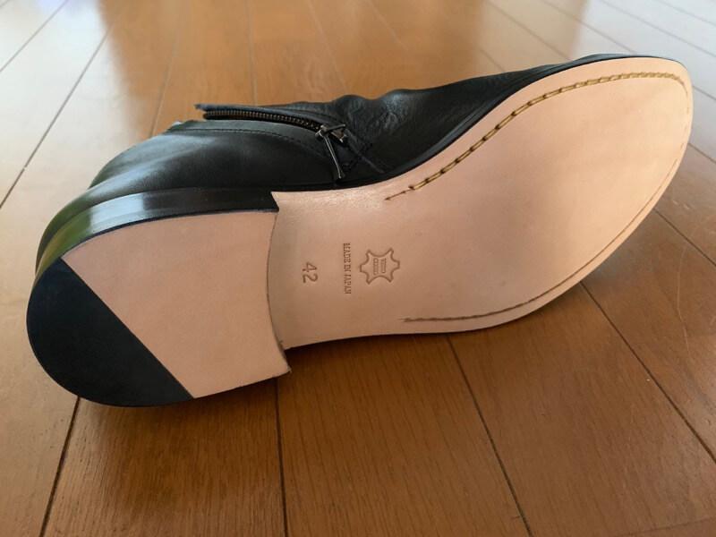パドローネの靴裏