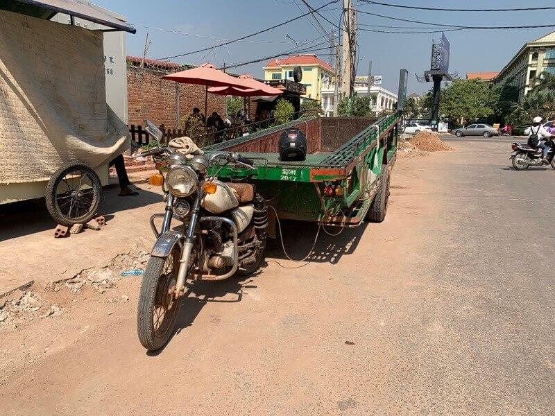 カンボジアのルモー