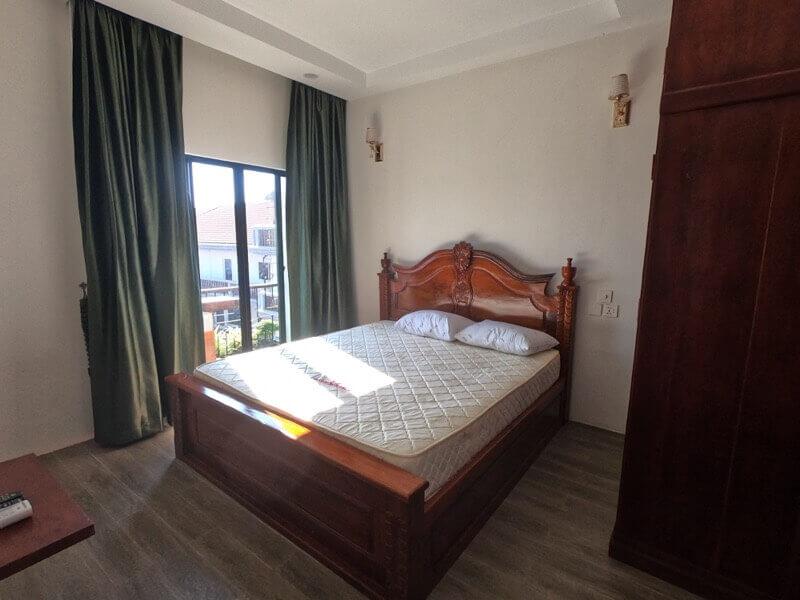 カンボジアの自宅の寝室