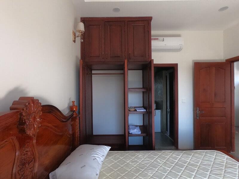 カンボジアの自宅寝室