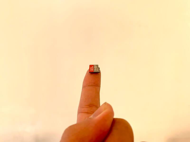 大容量MicroSDカード