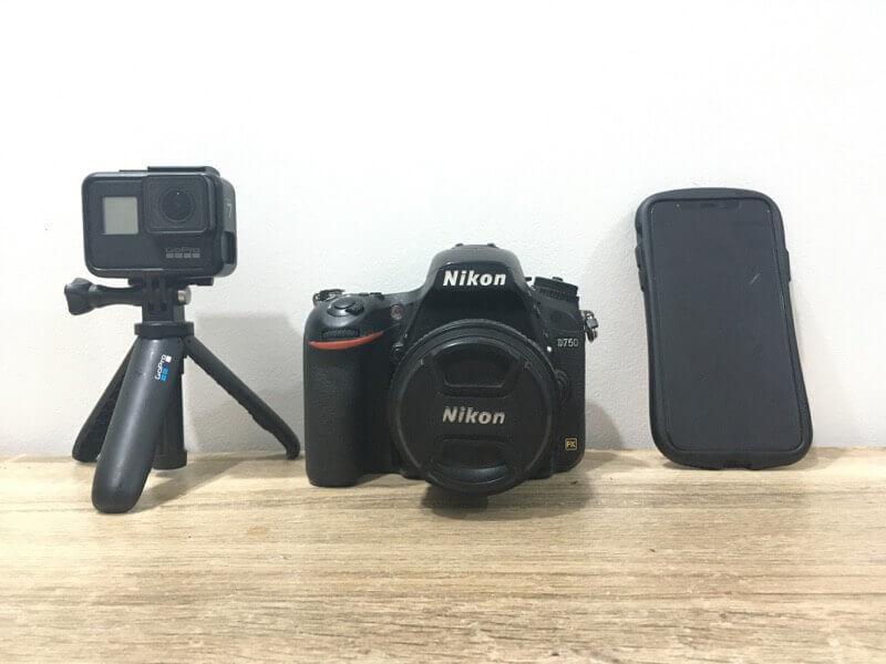 ブログ用に使っているカメラ