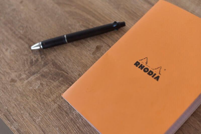 ブログが書けない時はノートを開く