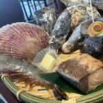 海鮮BBQ定食の上