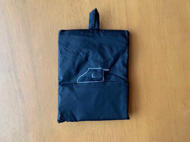 無印良品のたためるシューズ袋