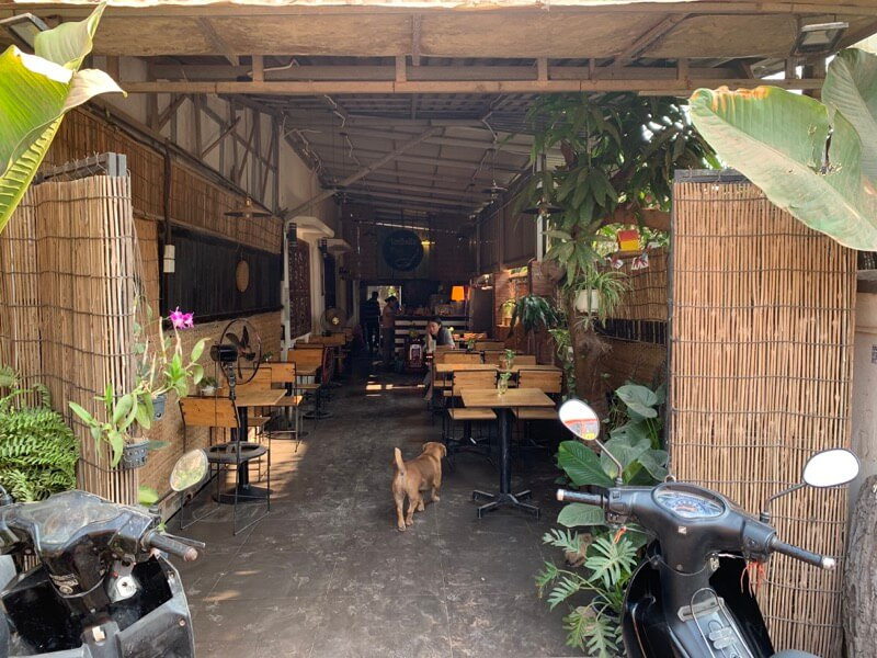 Thai Kitchenの店内