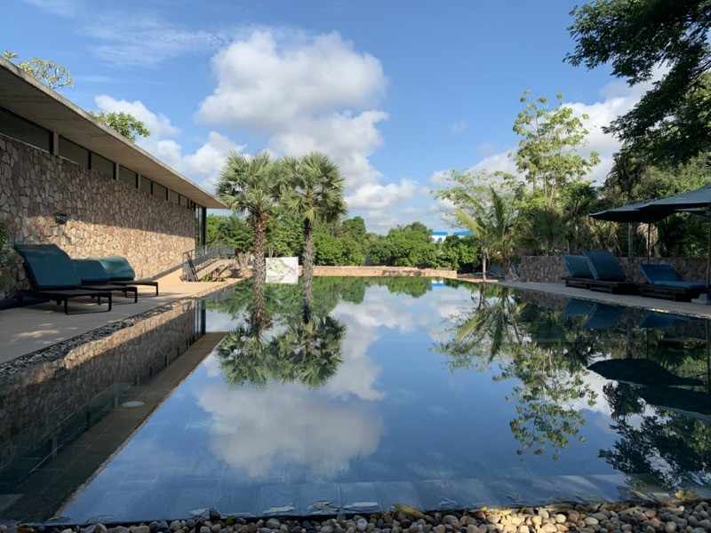 Hillocks Hotelのプール