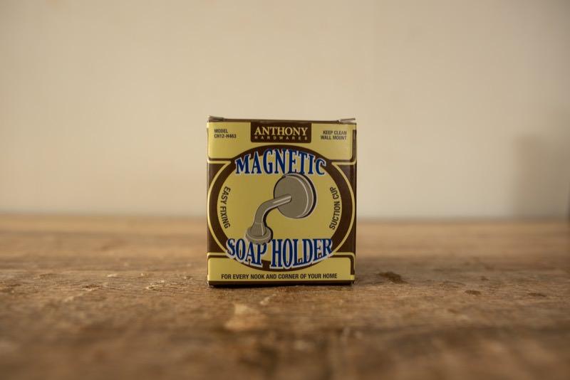 マグネティックソープホルダーの箱です