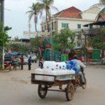 カンボジアの街の様子