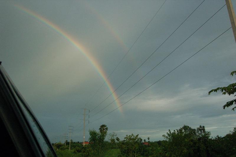 カンボジアの空の様子