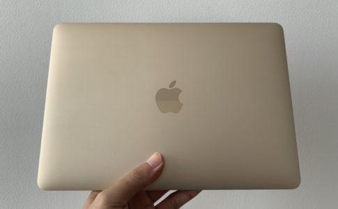 中古のMacBook 12インチの使用レビュー