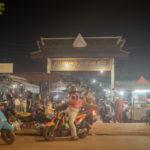 カンボジアのローカルマーケット