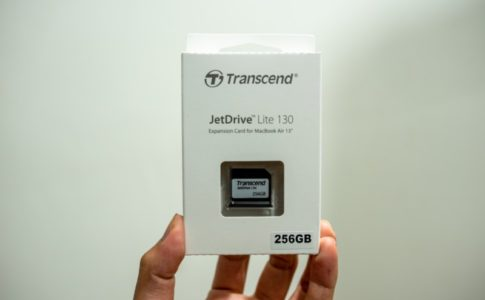 TrancsendのJet Drive Liteの箱