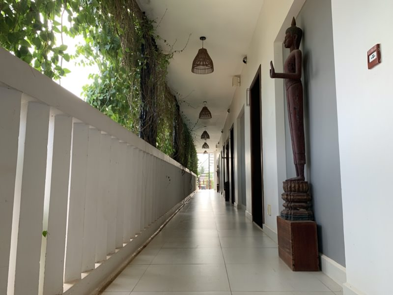 Sabara Angkor Resort & Spaの通路