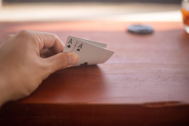 ポーカーの手札