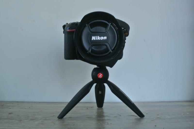 一眼レフカメラを載せたPIXI
