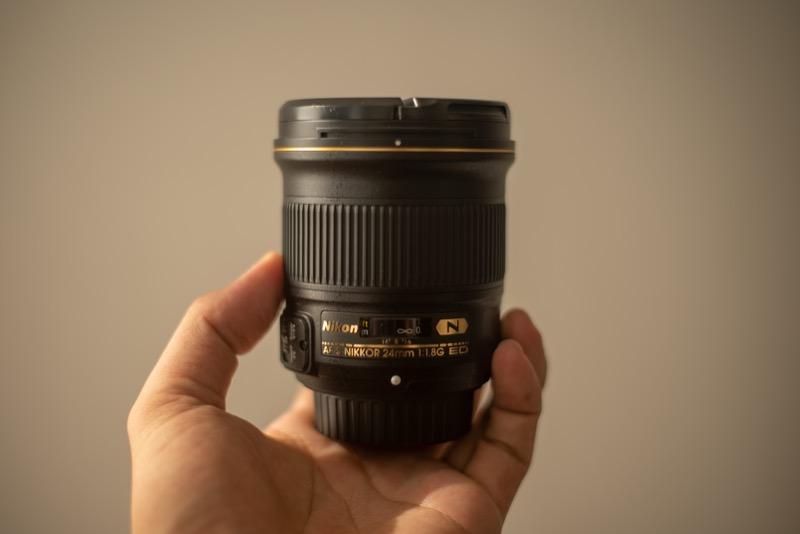 Nikon 短焦点レンズ 24mm