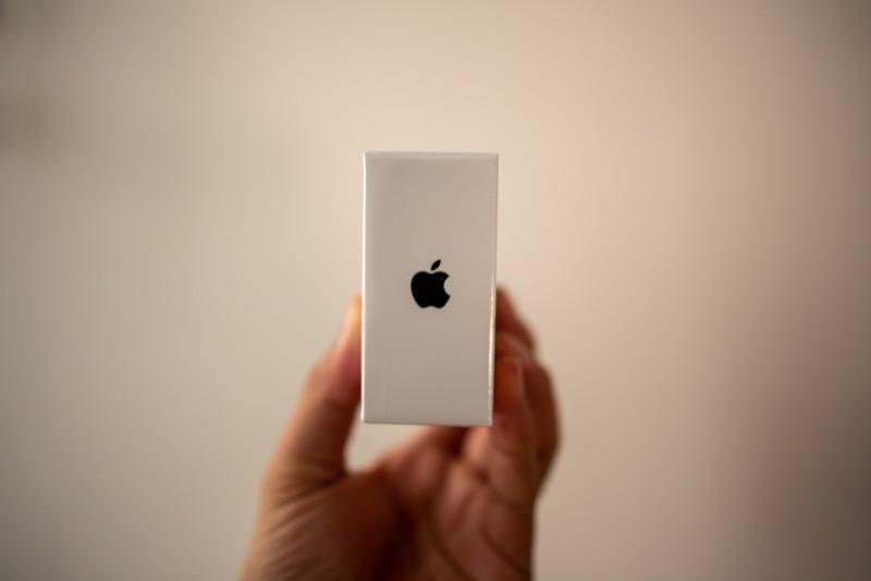 Magic Mouse 2の箱の厚み