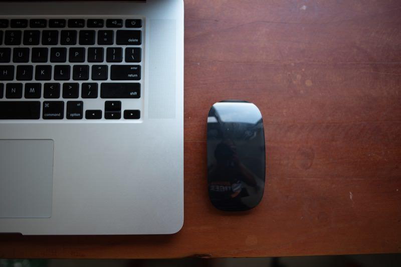 Magic Mouse 2を使ってみた様子