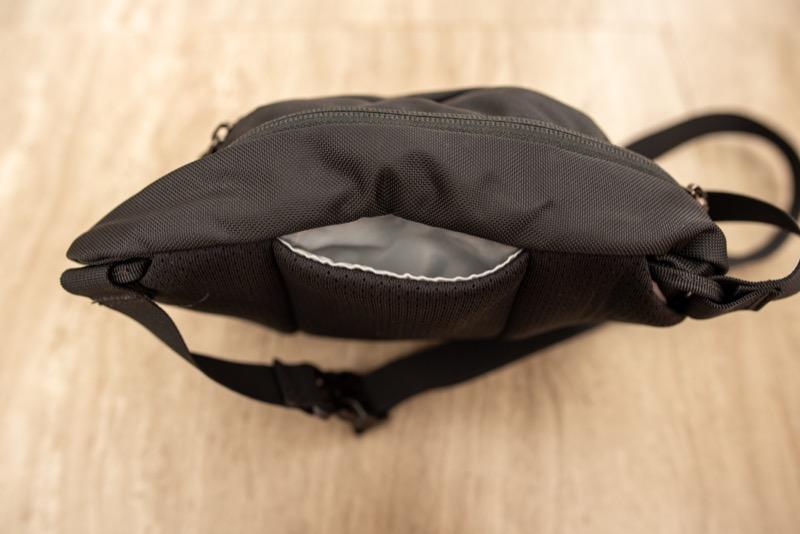 アークテリクスMAKA2のスマホ収納ポケット