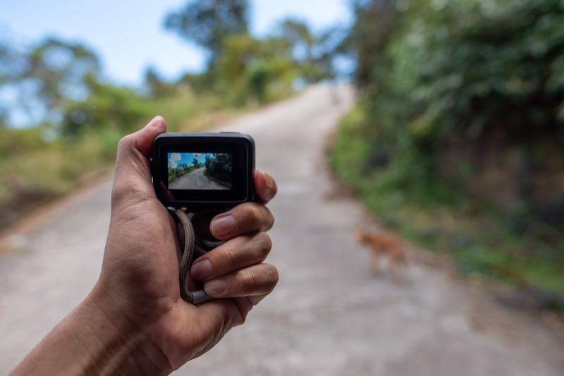 GoProを持ってアクティビティーに出かける