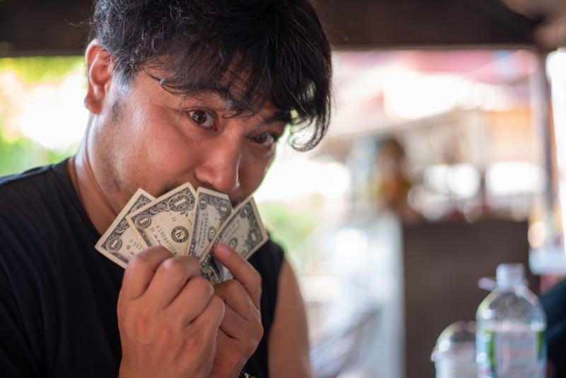 お金を管理する人