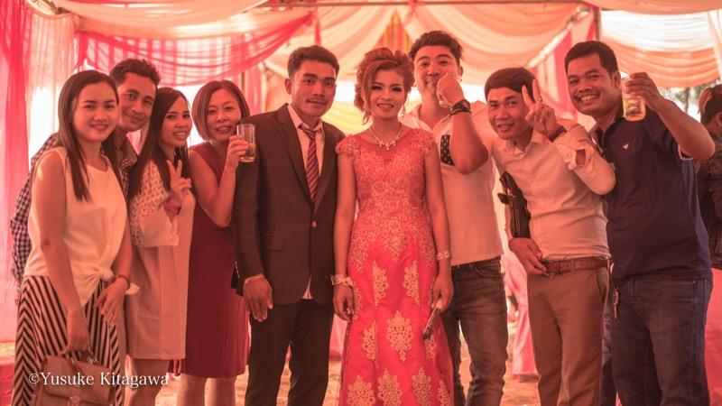 シティのスタッフの結婚式