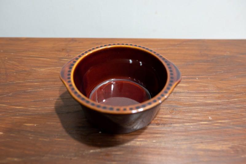 茶色いココット皿
