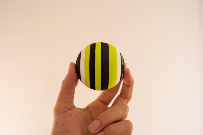 トリガーポイントのマッサージボールのサイズ