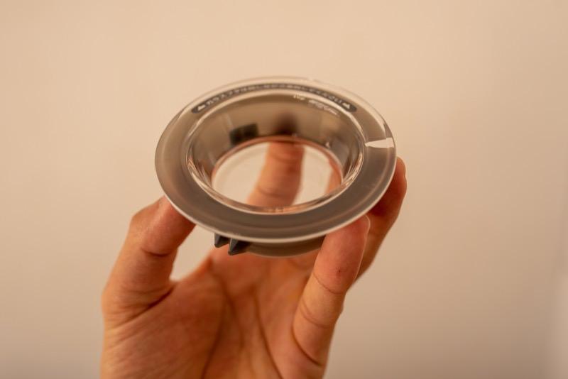 V60レンジサーバーのガラス蓋