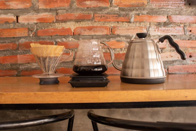 HARIOのドリップコーヒーセット